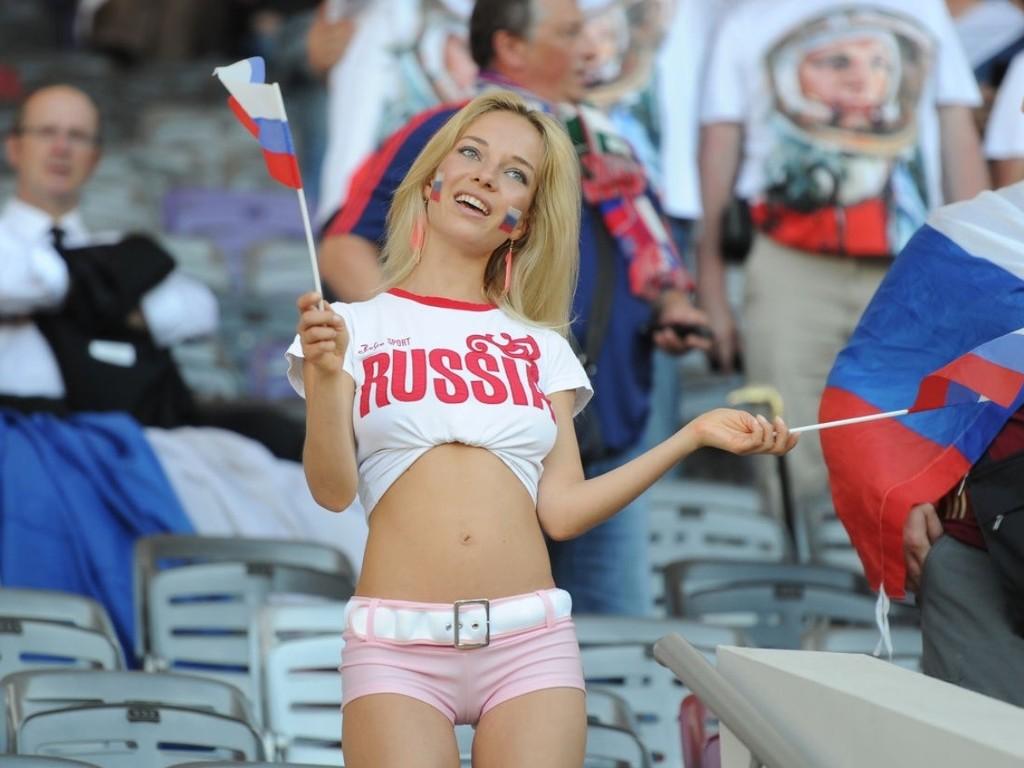 Фото болельщицы России
