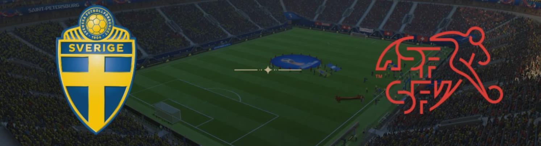 Обложка на матч Швеция - Швейцария