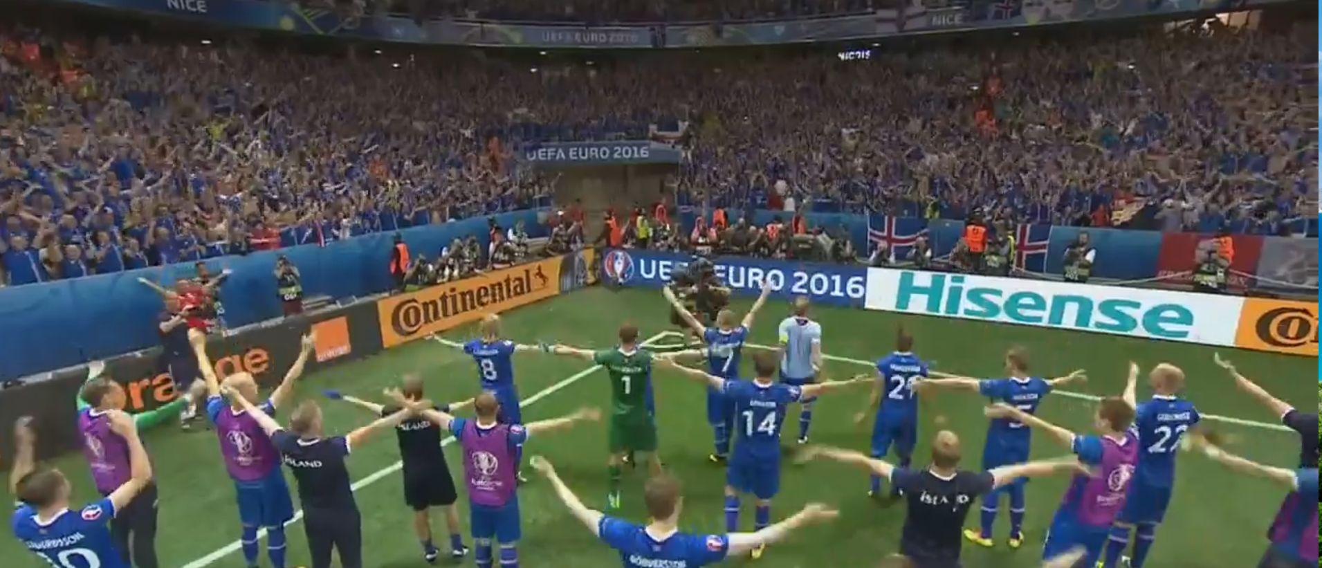 Перформанс сборной Исландии