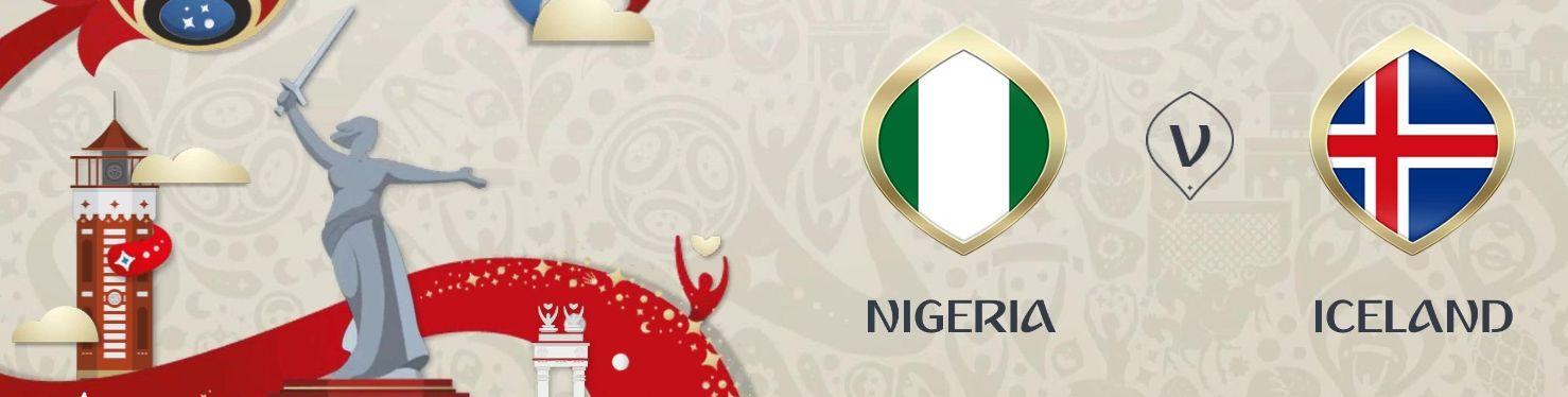 Обложка на матч Нигерия - Исландия