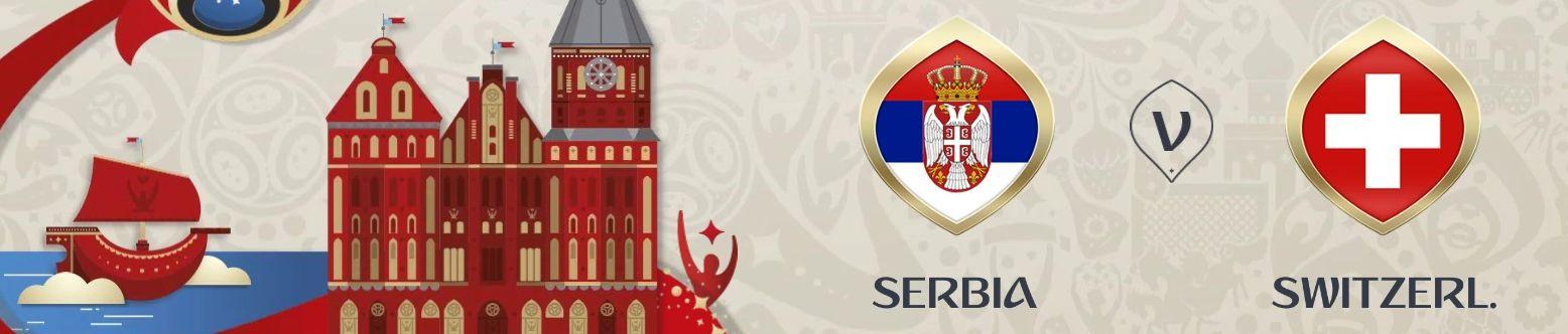 Обложка на матч Сербия - Швейцария