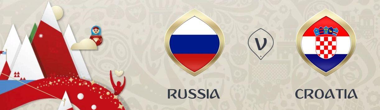 Обложка на матч Россия - Хорватия