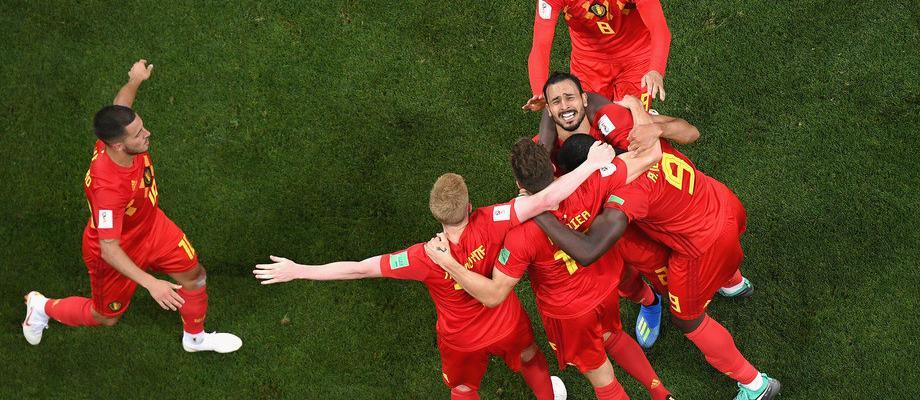 Бельгия вырывает победу у Японии в 1/8 финала ЧМ-2018 Фото