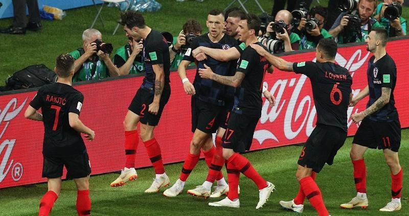 Хорватия – Англия ЧМ-2018 фото