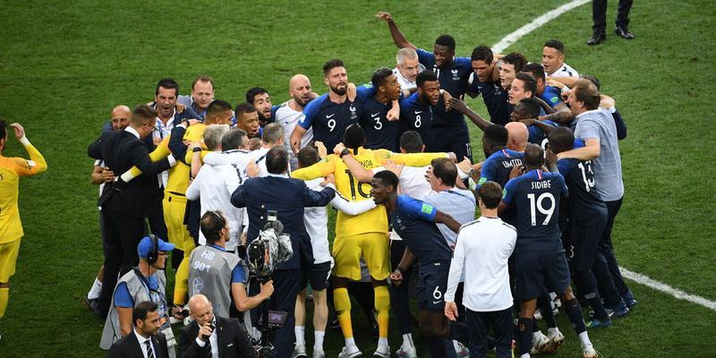 Франция — чемпион мира 2018!