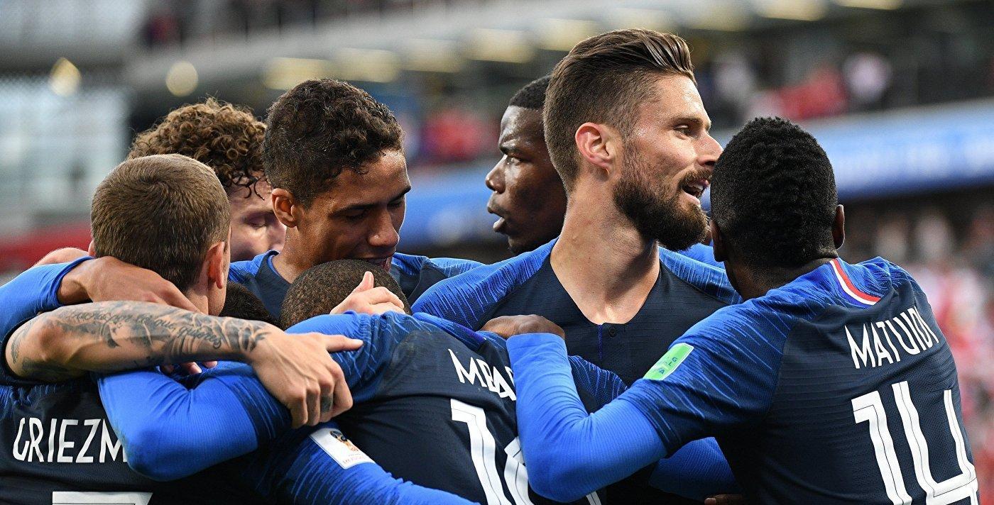 Франция забивает единственный гол в матче