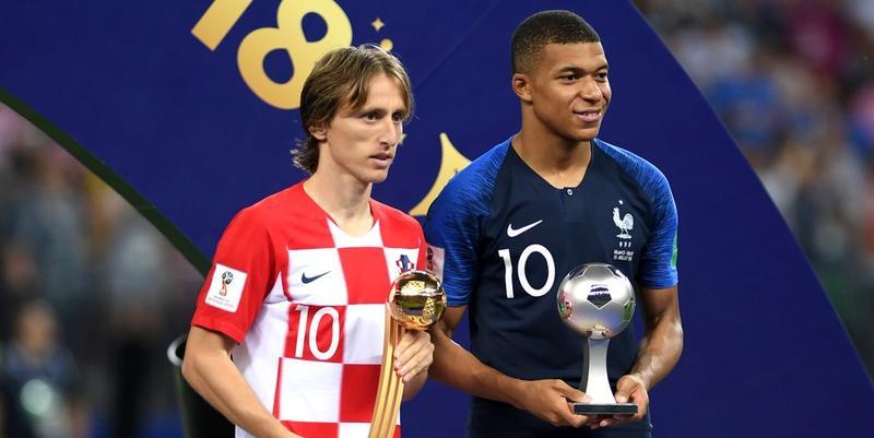 Лучший футболист и лучший молодой игрок чемпионата мира 2018
